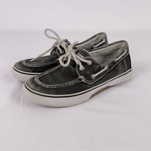 ✨3/$25✨Sperry Halyard Distressed Grey Loafers